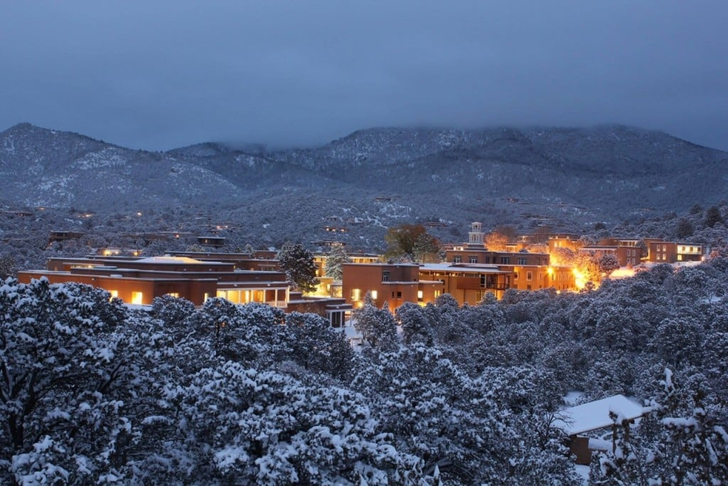 The Santa Fe campus of St. John's College. Photo by Mike Donaldson.